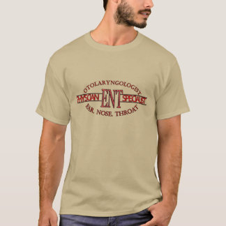SPECIALIST ENT Otolaryngology Ear Nose Throat LOGO T-Shirt