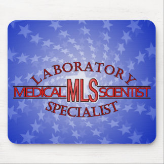 SPECIALIST LAB MLS MEDICAL LABORATORY SCIENTIST MOUSE PAD