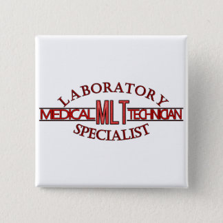 SPECIALIST LAB MLT MEDICAL LABORATORY TECHNICIAN BUTTON