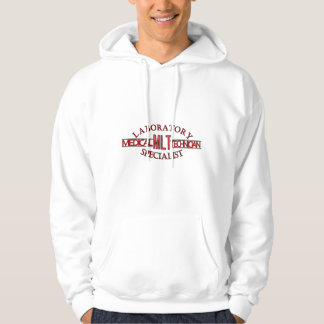 SPECIALIST LAB MLT MEDICAL LABORATORY TECHNICIAN HOODED PULLOVER