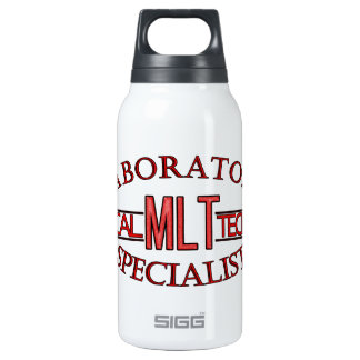 SPECIALIST LAB MLT MEDICAL LABORATORY TECHNICIAN INSULATED WATER BOTTLE