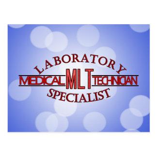 SPECIALIST LAB MLT MEDICAL LABORATORY TECHNICIAN POSTCARD