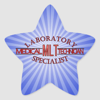 SPECIALIST LAB MLT MEDICAL LABORATORY TECHNICIAN STAR STICKER