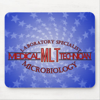 SPECIALIST LAB MLT MICROBIOLOGY MEDICAL LAB TECH MOUSE PAD