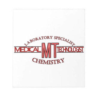 SPECIALIST LAB MT CHEMISTRY MEDICAL LABORATORY NOTEPADS