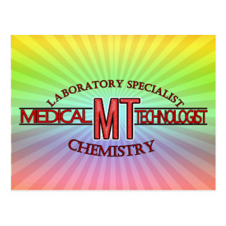 SPECIALIST LAB MT CHEMISTRY MEDICAL LABORATORY POSTCARD
