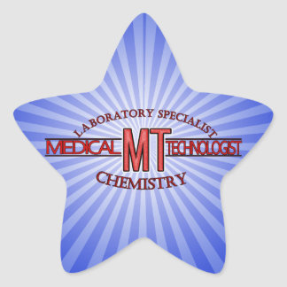 SPECIALIST LAB MT CHEMISTRY MEDICAL LABORATORY STAR STICKER
