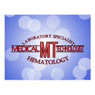 SPECIALIST LAB MT HEMATOLOGY MEDICAL TECHNOLOGIST POSTCARD