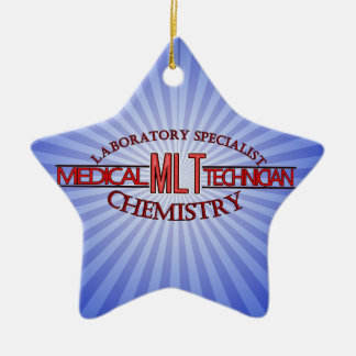 SPECIALIST  MLT CHEMISTRY MEDICAL LABORATORY TECH CERAMIC ORNAMENT