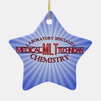 SPECIALIST  MLT CHEMISTRY MEDICAL LABORATORY TECH CERAMIC ORNAMENT
