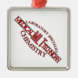 SPECIALIST  MLT CHEMISTRY MEDICAL LABORATORY TECH METAL ORNAMENT