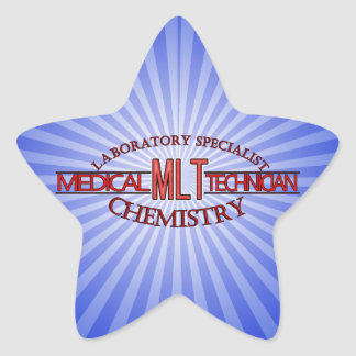 SPECIALIST  MLT CHEMISTRY MEDICAL LABORATORY TECH STAR STICKER
