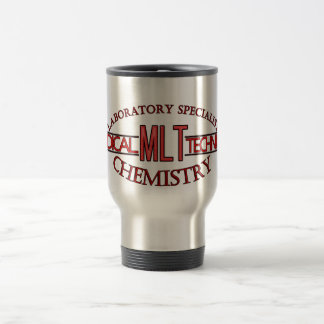 SPECIALIST  MLT CHEMISTRY MEDICAL LABORATORY TECH TRAVEL MUG