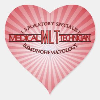 SPECIALIST MLT LAB IMMUNOHEMATOLOGY HEART STICKER