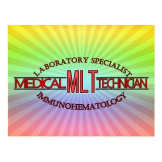 SPECIALIST MLT LAB IMMUNOHEMATOLOGY POSTCARD