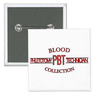 SPECIALIST PBT PHLEBOTOMY TECH BLOOD COLLECTION BUTTON
