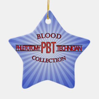 SPECIALIST PBT PHLEBOTOMY TECH BLOOD COLLECTION CERAMIC ORNAMENT