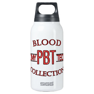 SPECIALIST PBT PHLEBOTOMY TECH BLOOD COLLECTION INSULATED WATER BOTTLE