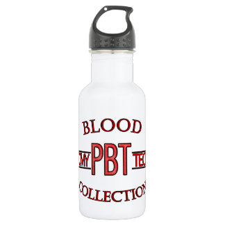 SPECIALIST PBT PHLEBOTOMY TECH BLOOD COLLECTION STAINLESS STEEL WATER BOTTLE