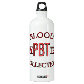 SPECIALIST PBT PHLEBOTOMY TECH BLOOD COLLECTION WATER BOTTLE