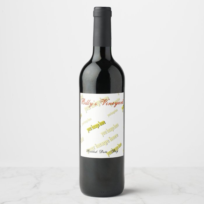 specialized create your own wine label zazzle With create my own wine label