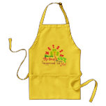 "♫☆♥Specially Customized ""Best Luck"" Apron☆♥♪"