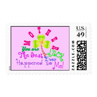 ♫☆♥Specially Customized Postage Stamp for Mom☆♥♪