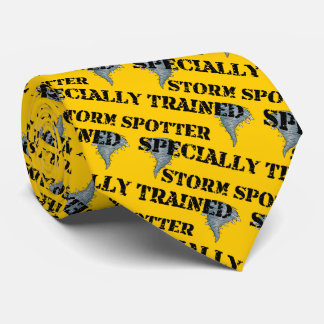 Specially Trained Storm Spotter Tie