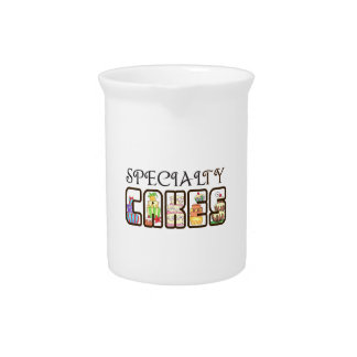SPECIALTY CAKES BEVERAGE PITCHERS