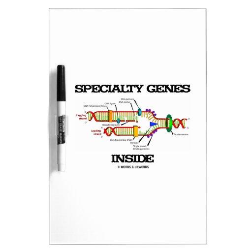 Specialty Genes Inside (DNA Replication) Dry-Erase Whiteboard
