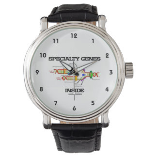 Specialty Genes Inside (DNA Replication) Wrist Watches
