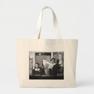 Specialty Hat Shop, 1940s Jumbo Tote Bag