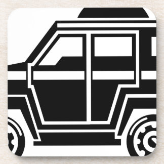 Specialty Vehicle Beverage Coaster