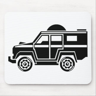 Specialty Vehicle Mouse Pad