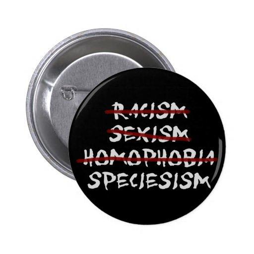 Speciesism 2 Inch Round Button
