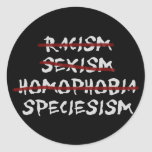 Speciesism Stickers