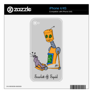 Specimen 317c Skin for iPhone4/4s iPhone 4S Decal