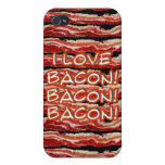 Speck Case- I Love Bacon Cases For iPhone 4
