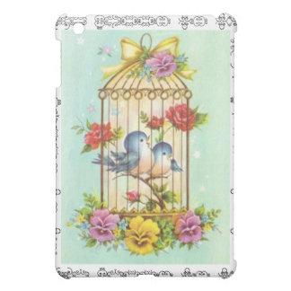 SPECK CASE VINTAGE BIRDS iPad MINI COVER