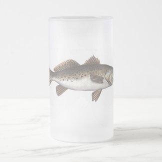 SPECK FROSTED GLASS BEER MUG