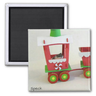 Speck on The Christmas Train Fridge Magnets