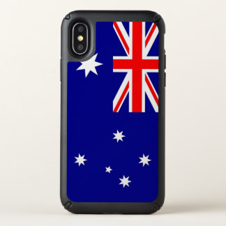 Speck Presidio iPhone X Case Australia flag