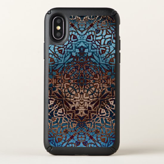 Speck Presidio iPhone X Case Ethnic Tribal Pattern