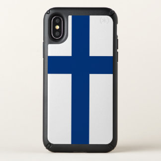 Speck Presidio iPhone X Case Finland flag