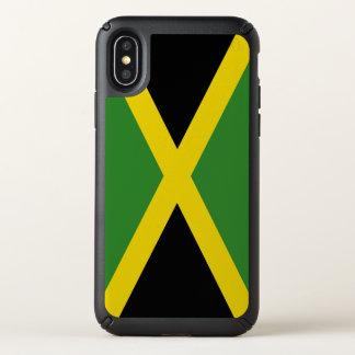 Speck Presidio iPhone X Case Jamaica flag