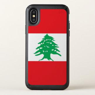 Speck Presidio iPhone X Case Lebanon flag