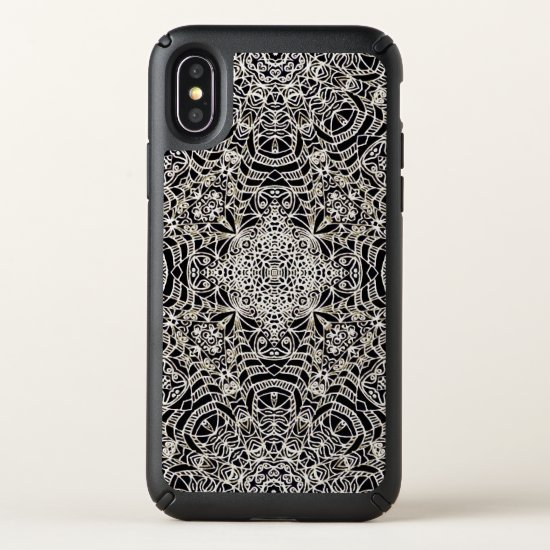 Speck Presidio iPhone X Case Mehndi Ethnic G419