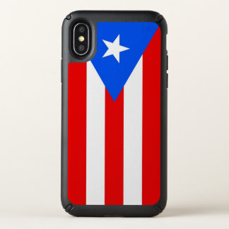 Speck Presidio iPhone X Case Puerto Rico flag