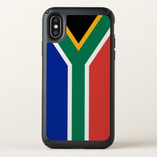 Speck Presidio iPhone X Case South Africa flag