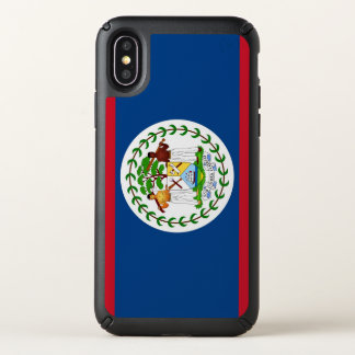 Speck Presidio iPhone X Case with Belize flag